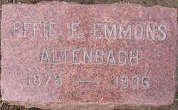 Effie E. <i>Emmons</i> Altenbach
