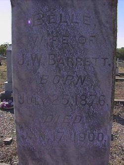 Louisa Belle <i>Davidson</i> Barrett