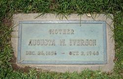 Augusta Matilda <i>Wagman</i> Iverson