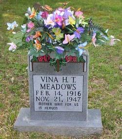 Vina Hazel <i>Neal</i> Meadows