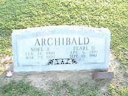 Pearl O. <i>Henderson</i> Archibald