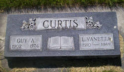 Lottie Vanetta <i>Jackson</i> Curtis
