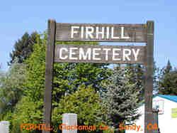 Fir Hill Cemetery