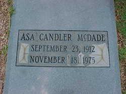 Asa Candler ''A.C.'' McDade
