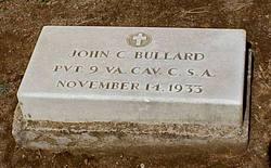 Pvt John Chancellor Bullard