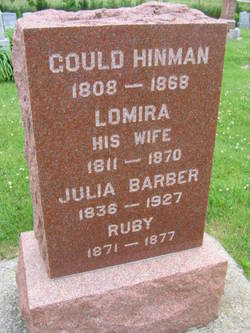 Julia <i>Hinman</i> Barber