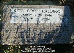 Beth Edith Balding