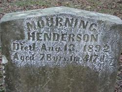 Mourning <i>Ballard</i> Henderson