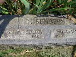 Jessie Deane <i>McColley</i> Dusenbery
