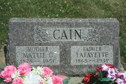Mattie C. CAIN