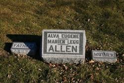 Marien <i>Legg</i> Allen