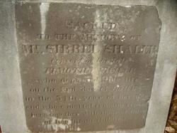 Sibbel <i>Warner</i> Shaler