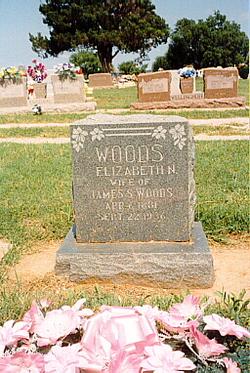 Nancy Elizabeth <i>Dillard</i> Woods