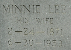 Minnie Lee <i>Leatherwood</i> Doss