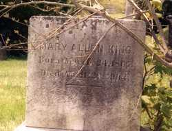 Mary Allen King