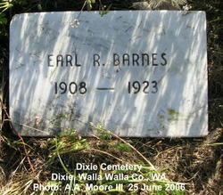 Earl R. Barnes