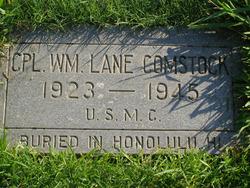 Corp William Lane Comstock
