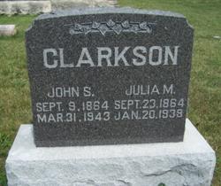 Julia M. Clarkson