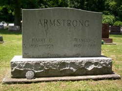 Mary Francis C Frances <i>Armstrong</i> Armstrong
