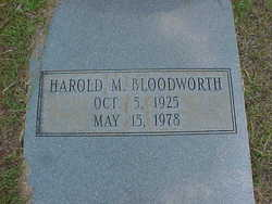 Harold M. Bloodworth