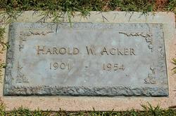 Harold Woodson Acker