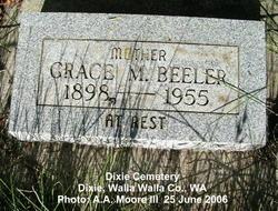 Grace M. <i>Cale</i> Beeler