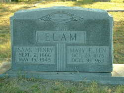 Mary Ellen <i>Markham</i> Elam