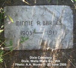 Minnie A. Barnes