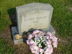 Claudia Claudie <i>Hubbard</i> Hall