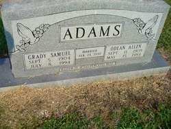 Odean Allen Adams