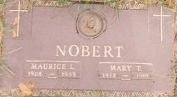 Mary Turner <i>Barritt</i> Nobert