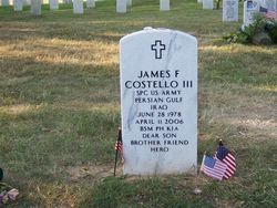 PFC James F. Costello, III
