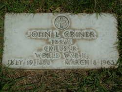 John Lawrence Criner