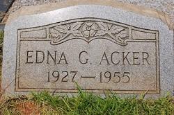 Edna Joyce <i>Gilstrap</i> Acker