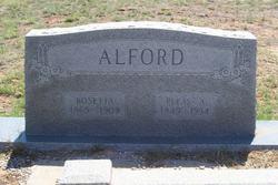 Pleasant A Pleas Alford