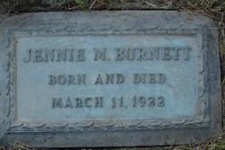 Jennie May Burnett