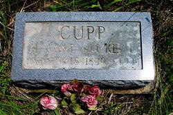 Harriet Jane <i>Upchurch</i> Cupp