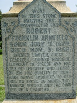 Robert Franklin Armfield