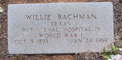 William M. Willie Bachman