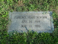 Florence Abigail <i>Sharp</i> Newsom