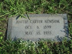 Hattie <i>Carter</i> Newsom