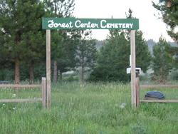 Forest Center Cemetery