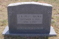 J R Peet Brown