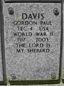 Gordon Paul Davis