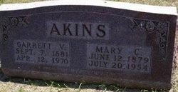 Mary C <i>Bailey</i> Akins