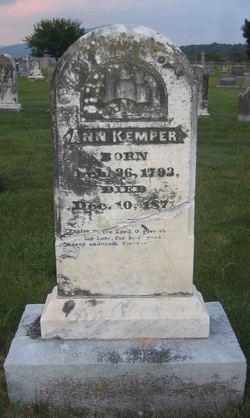 Ann <i>Rising</i> Kemper