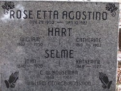 Rose Etta <i>Houseman</i> Agostino
