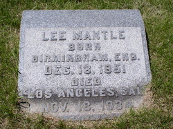 Lee Mantle