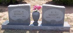 Benjamin F Bennett
