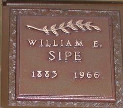 William E Sipe